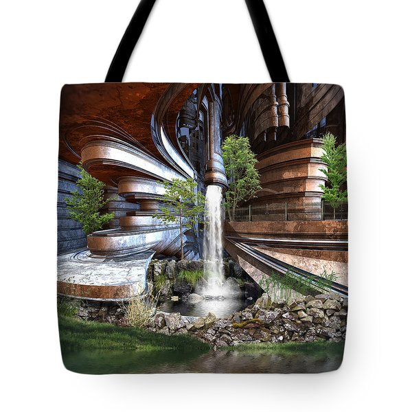The Green Project Tote Bag