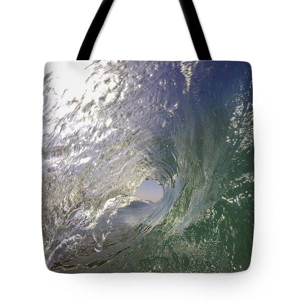 Tote Bag featuring the photograph The Green Room by Sean Foster