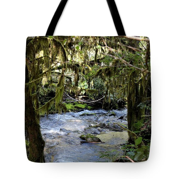 The Green Seen Tote Bag