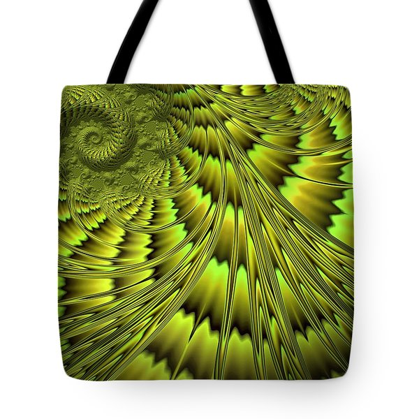 The Green Shell Tote Bag