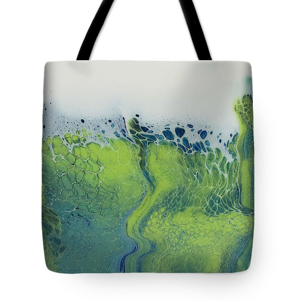 The Green Tides Tote Bag