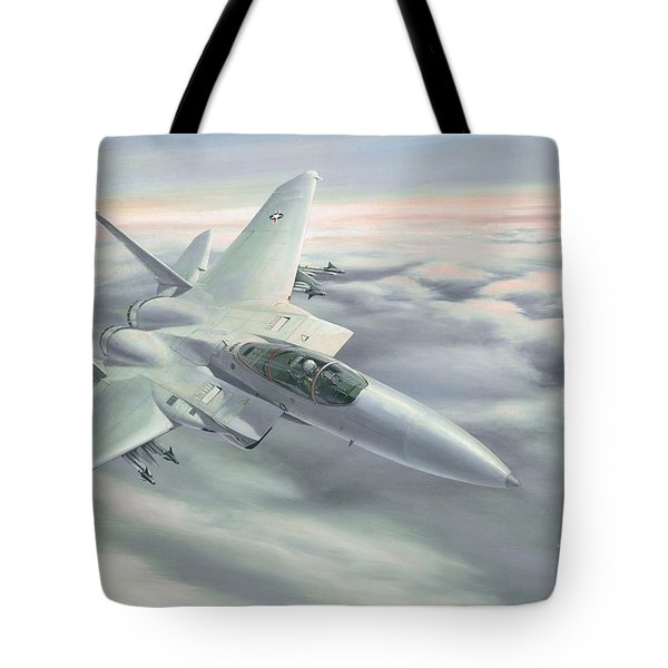 The Grey Ghost Tote Bag by Michael Swanson
