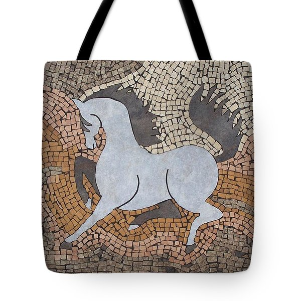 The Grey In Profile Tote Bag by Katherine Sutcliffe