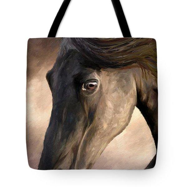 The Grey Tote Bag by James Shepherd