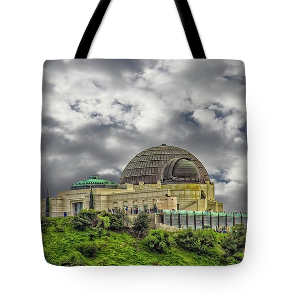 The Griffith Observatory Tote Bag
