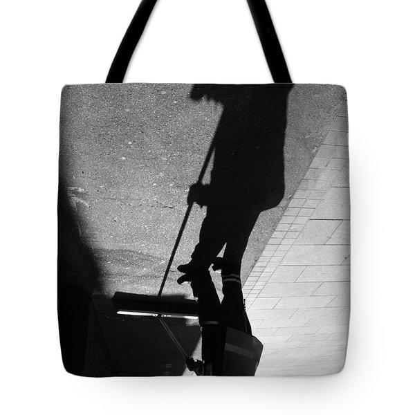 The Grim Sweeper Tote Bag