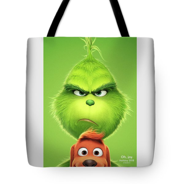 The Grinch 2018 A Tote Bag
