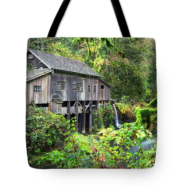 The Grist Mill, Amboy Washington Tote Bag