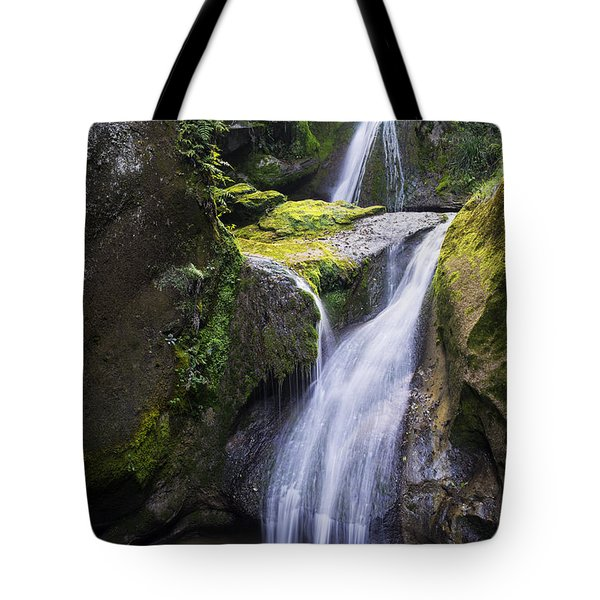 The Grotto Waterfalls Tote Bag by Yuri Santin