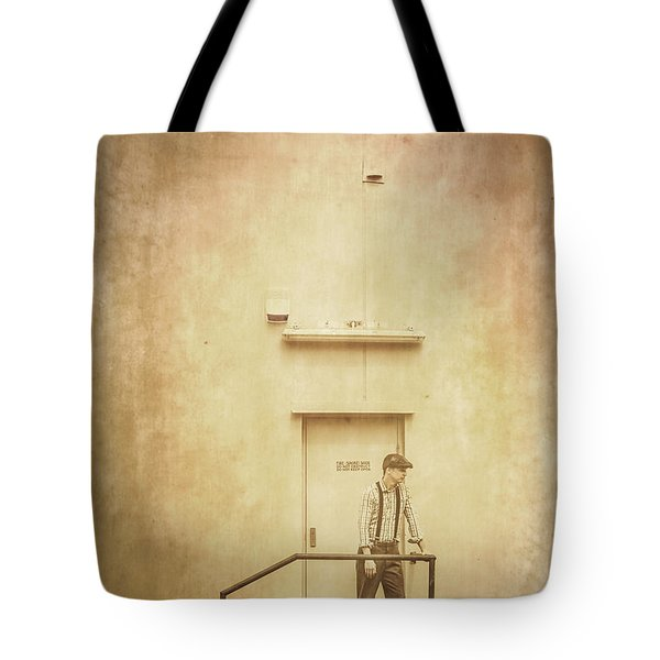 The Grunge Years. Vintage Paper Background Tote Bag