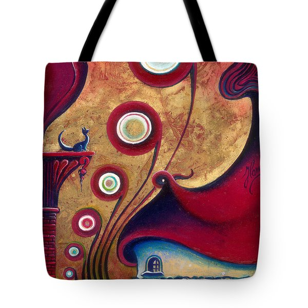 The Guardian Of Changes The Destiny Tote Bag