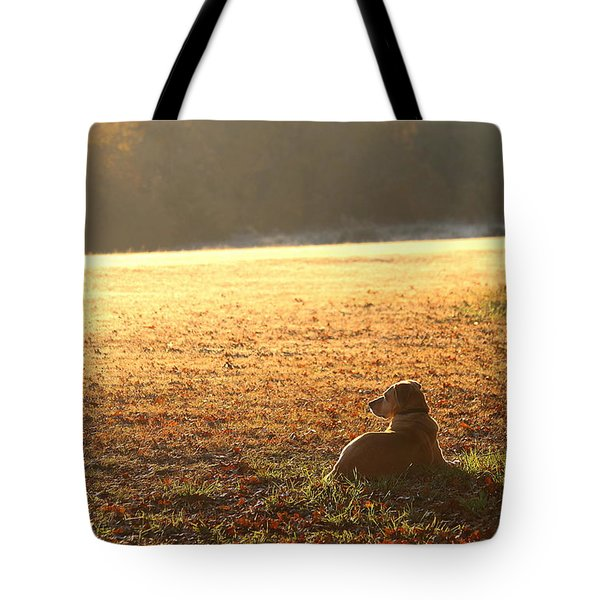 The Guardian Tote Bag by Sheila Brown