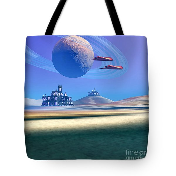 The Guardians Tote Bag by Corey Ford