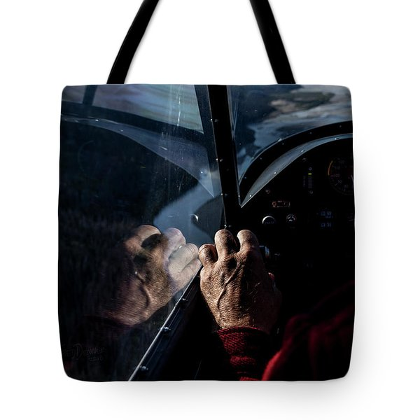 The Guiding Hand Tote Bag