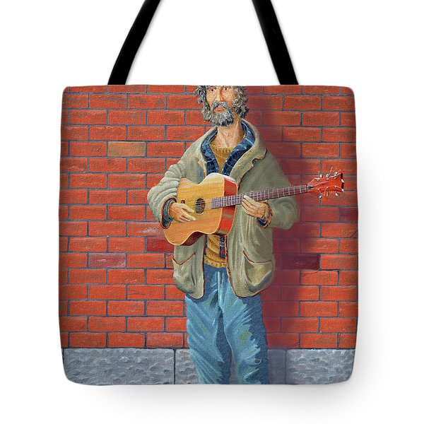 The Guitarist Tote Bag