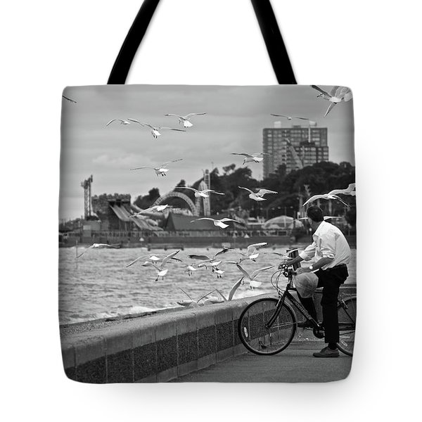 The Gull Man Tote Bag
