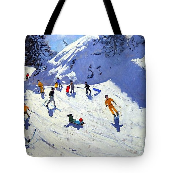 The Gully Tote Bag by Andrew Macara
