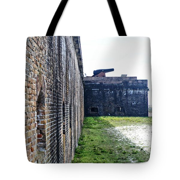 The Guns Of Ft. Pickens Tote Bag