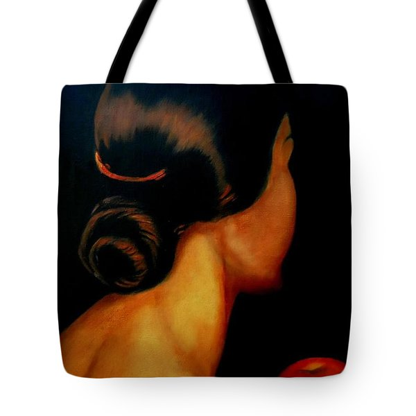The Hair   Tote Bag