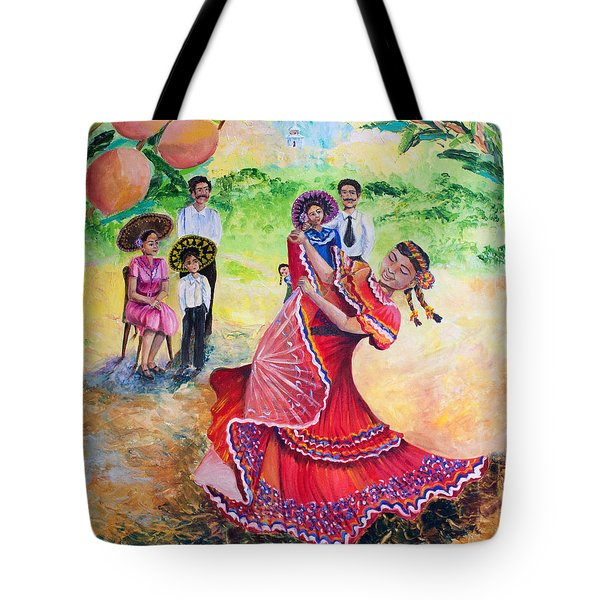 The Half And Halves Tote Bag