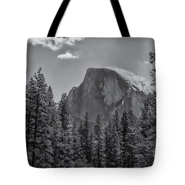 The Half Dome Of Yosemite Tote Bag