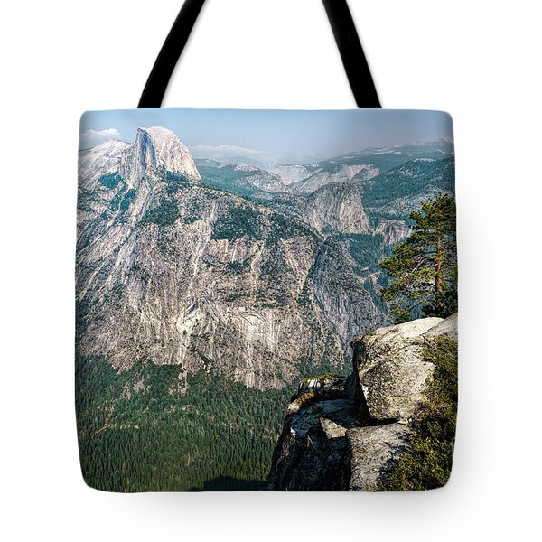 The Half Dome Yosemite Np Tote Bag