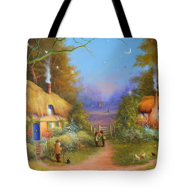 The Hamlet Of Gnarl Mid Summers Eve Tote Bag