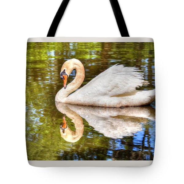 The Hammy Swan Tote Bag