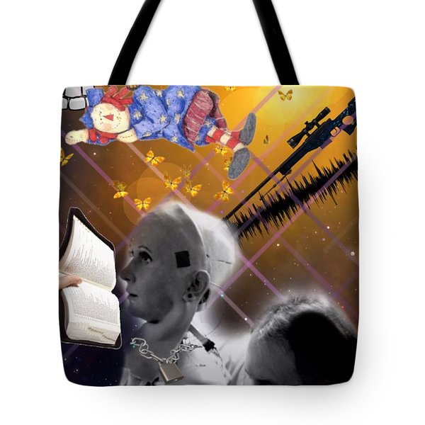 The Handler And The Slave Tote Bag