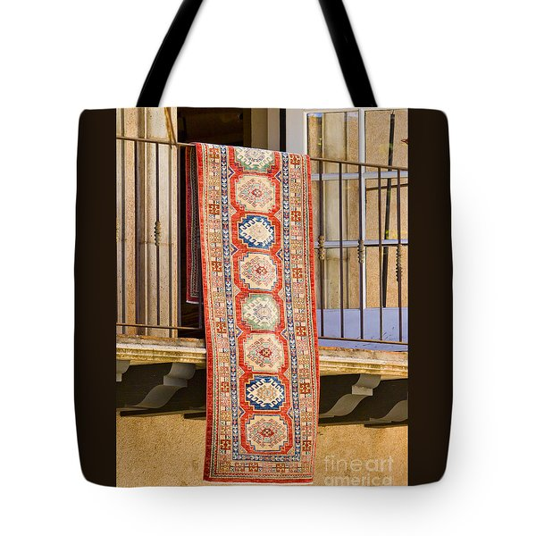 The Hanging Carpet Of Sedona Tote Bag