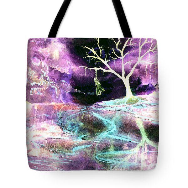 The Hanging Tree Inverted Tote Bag