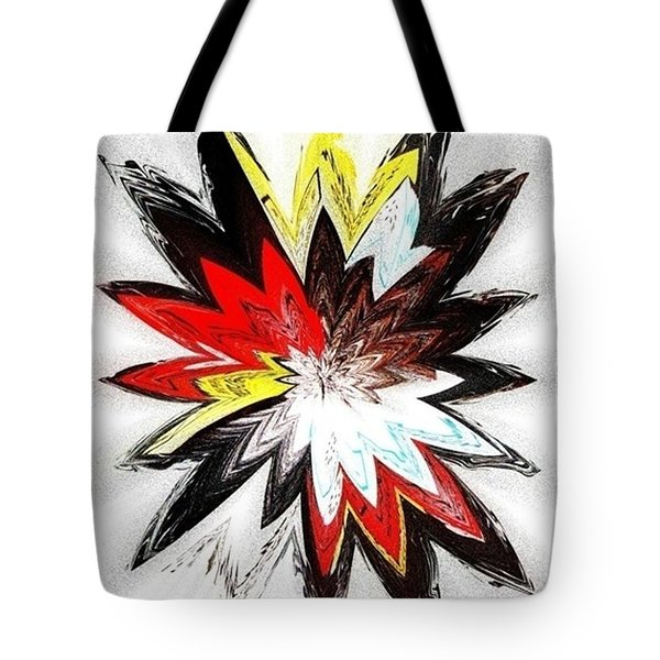 The Happy Asteroids Tote Bag