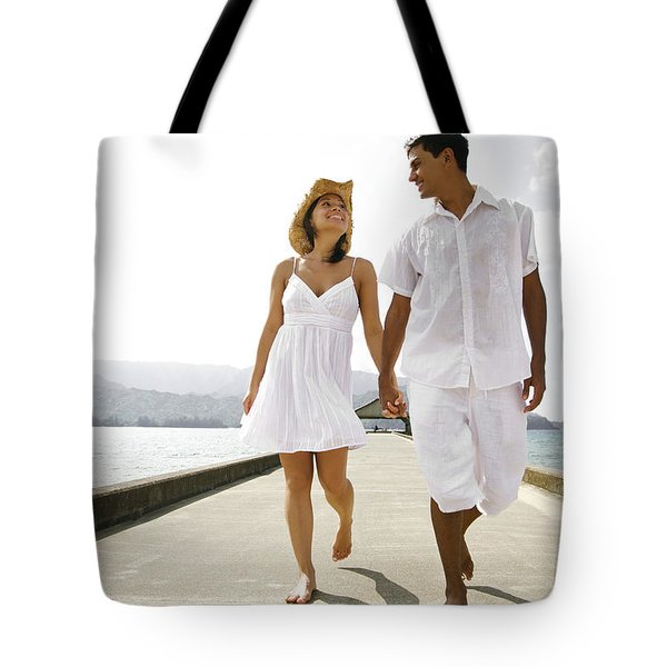 The Happy Couple Tote Bag by Kicka Witte - Printscapes