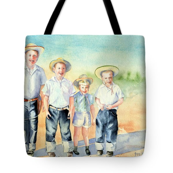 The Happy Wranglers Tote Bag