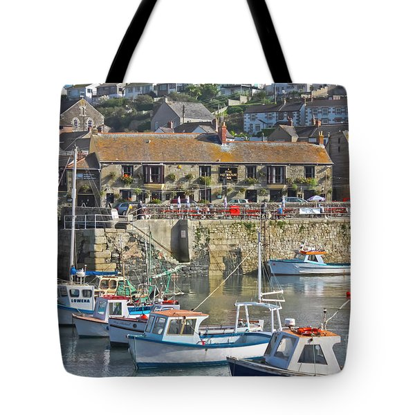 The Harbour Inn Porthleven Tote Bag