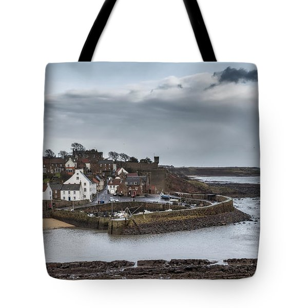 The Harbour Of Crail Tote Bag by Jeremy Lavender Photography