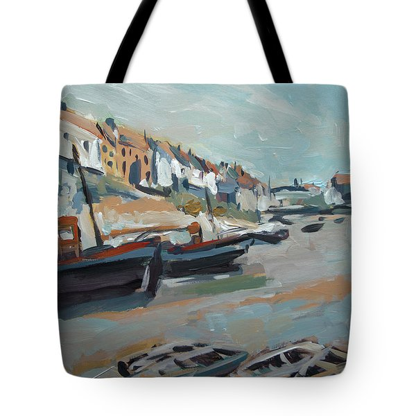 The Harbour Of Mevagissey Tote Bag