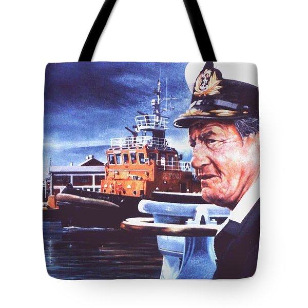 The Harbourmaster Tote Bag