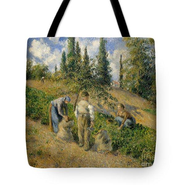 The Harvest, Pontoise, 1881  Tote Bag
