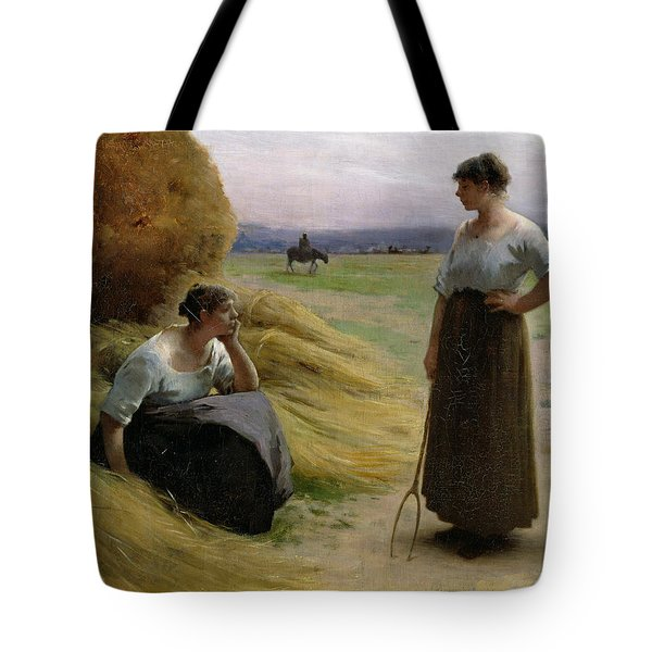 The Harvesters Tote Bag by Henri Lerolle