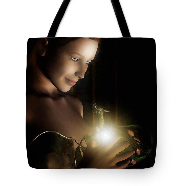 The Hatchling Tote Bag by John Edwards
