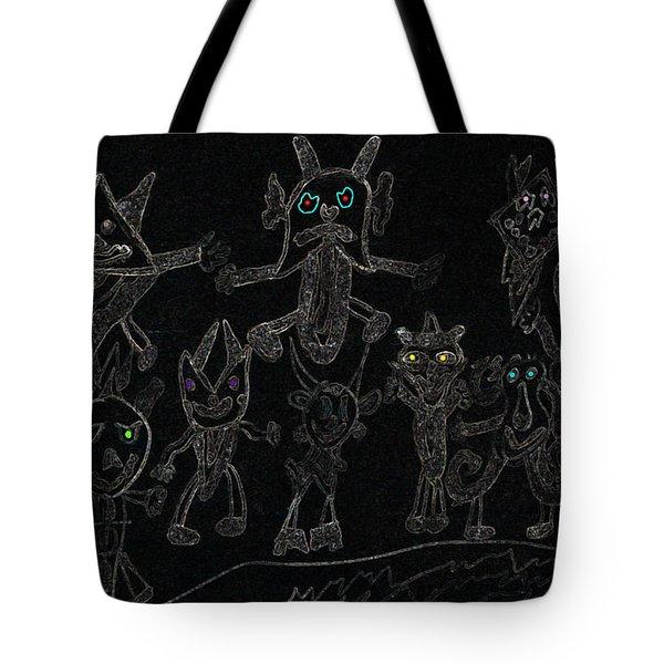 The Haunted Farmhouse Tote Bag