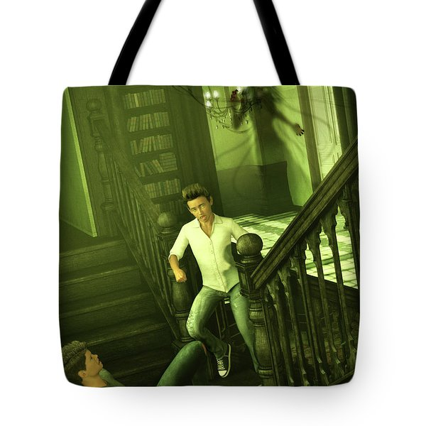 The Haunted Manor Tote Bag