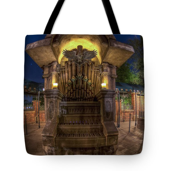 The Haunted Organ Tote Bag