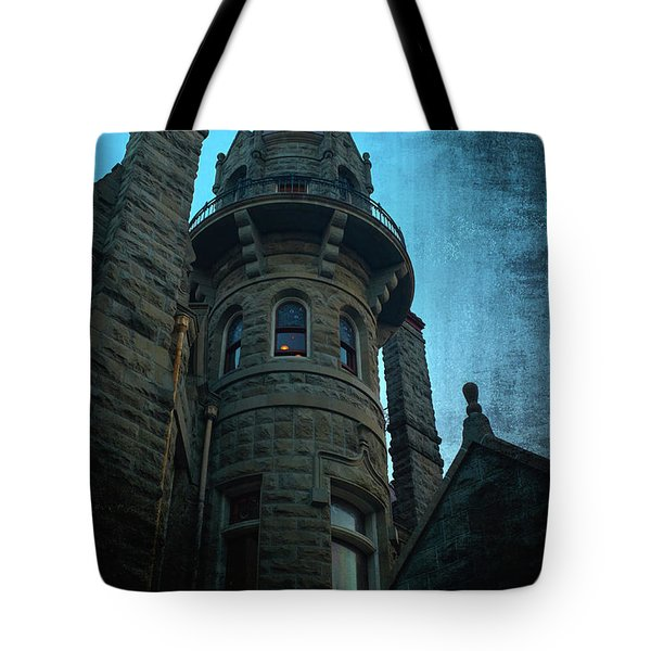 The Haunted Tower Tote Bag