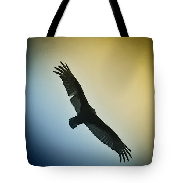 The Hawk Tote Bag by Bill Cannon