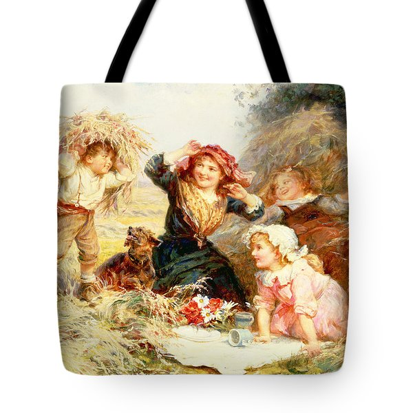 The Haymakers Tote Bag by Frederick Morgan