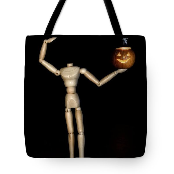 The Headless Woody Tote Bag