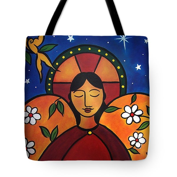 The Healing Angel Tote Bag