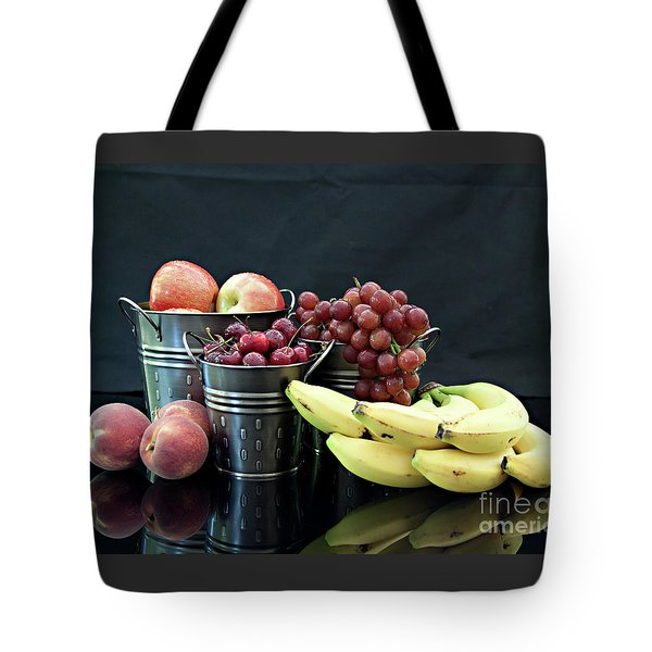 Tote Bag featuring the photograph The Healthy Choice Selection by Sherry Hallemeier
